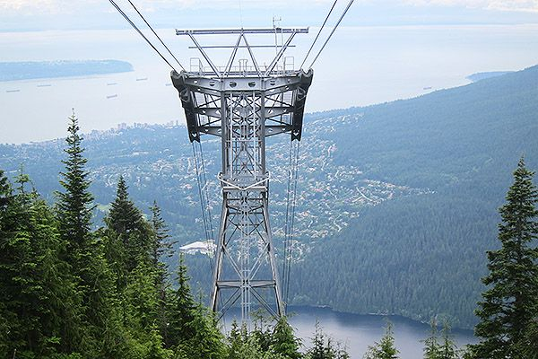 Vancouver松雞山 Grouse Mountain
